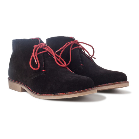 Ashton Desert Boot // Black