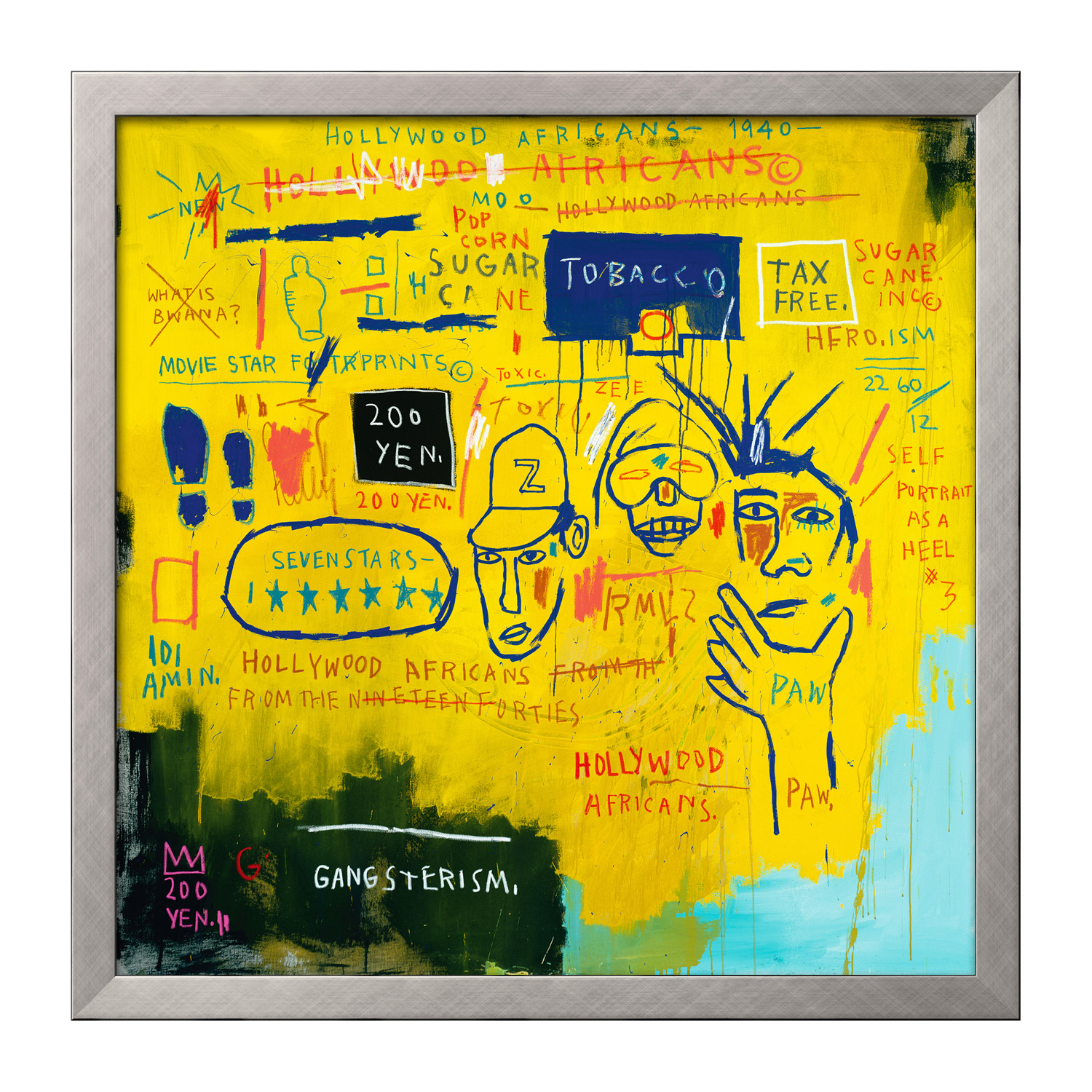 Basquiat hollywood africans