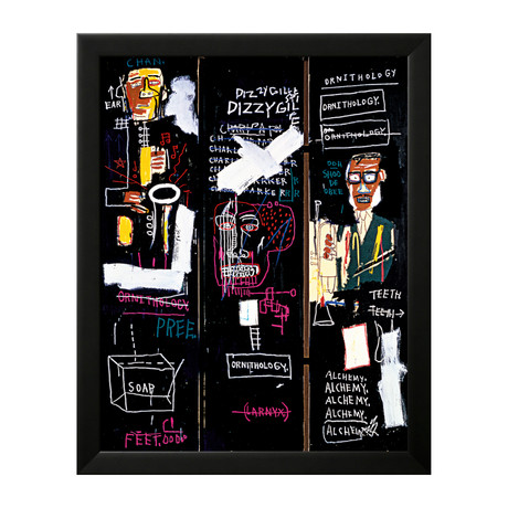 jean michel basquiat and stuart davis that are influenced by jazz