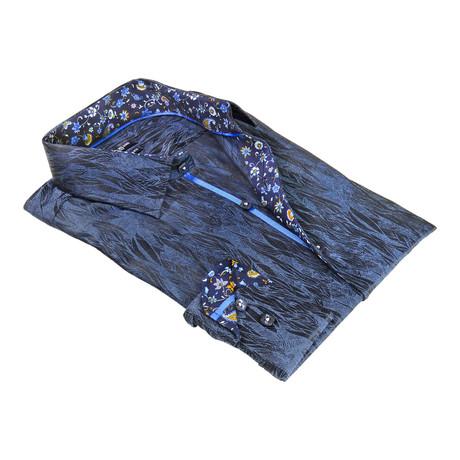 Downtown Dress Shirt // Navy