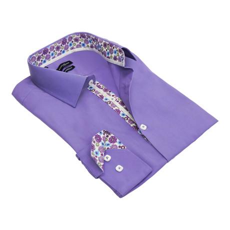 Quavo Dress Shirt  // Lavender