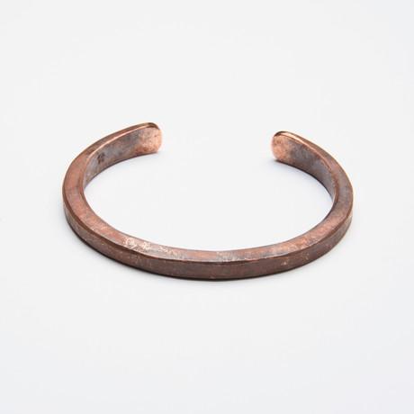 Heavyweight Classic Cuff // Copper