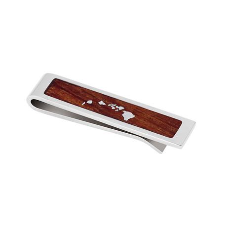 Hawaiian Koa Tie Bar