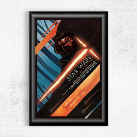 "Star Wars // The Force Awakens (11""W x 17""H)"