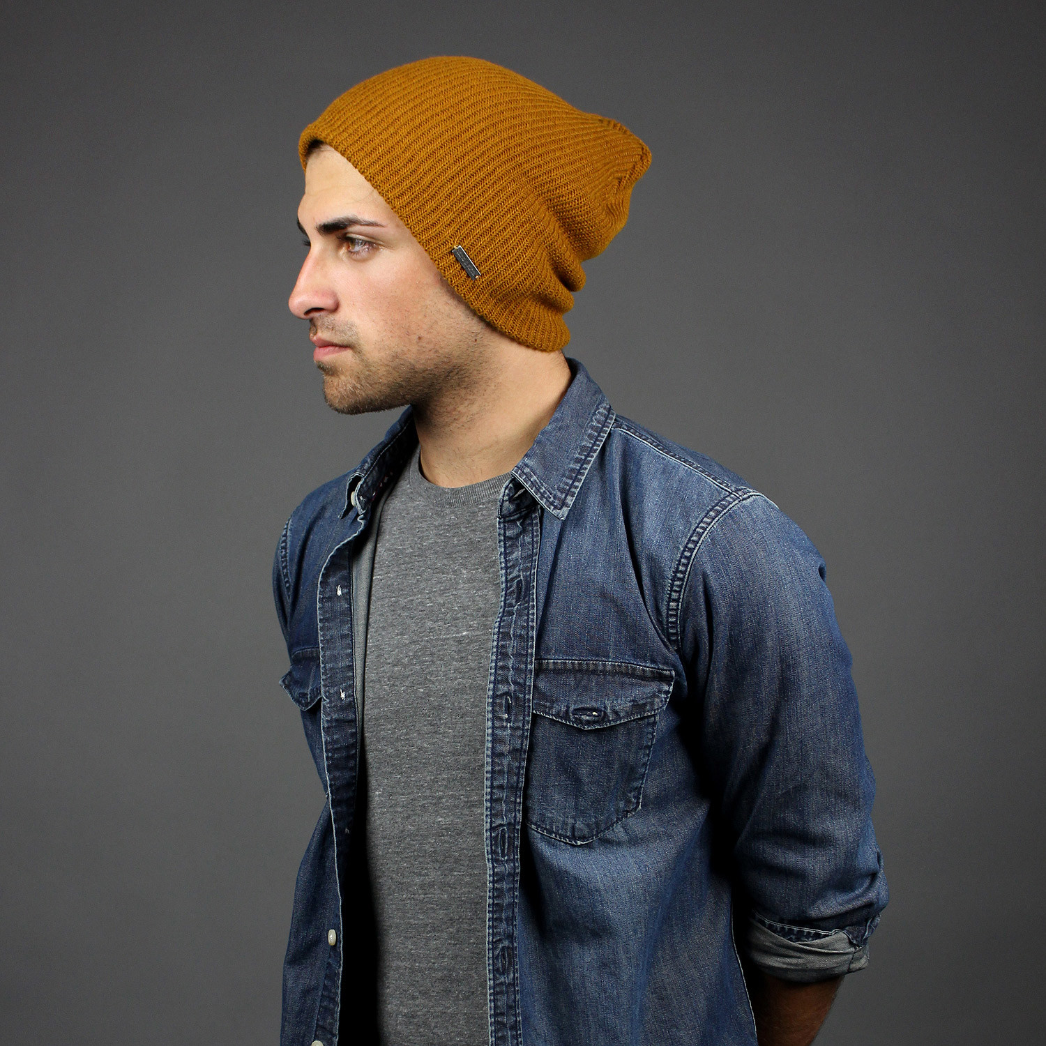The Forte Slouchy Beanie    Dark Yellow - King   Fifth - Touch of Modern fca80beb546
