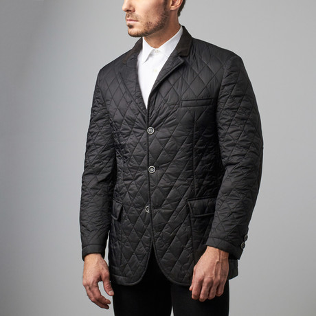 Bella Vita // Quilted Jacket // Black (S)