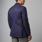 Bella Vita // Quilted Jacket // Royal Blue (S)