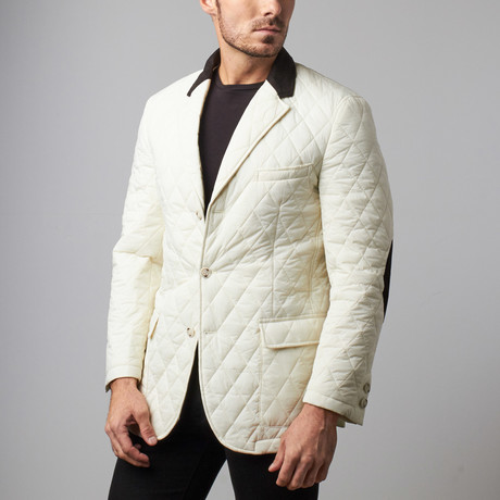 RGB // Quilted Jacket // White