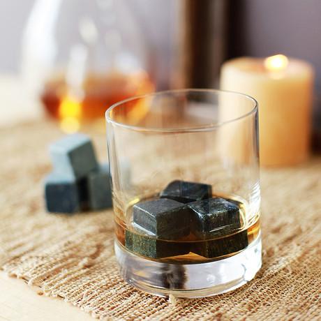 Whiskey Rocks // Set of 8