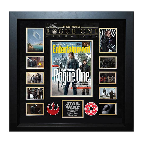 Rogue One Signed Magazine Collage