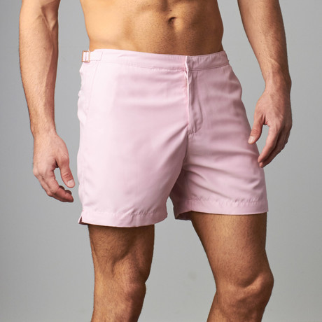 Sky Swim Short // Pink