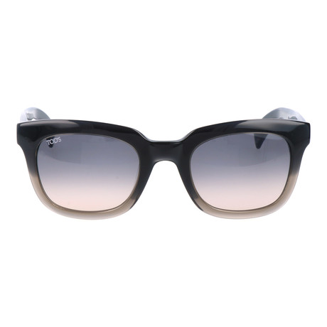 Thick Frame Gradient // Navy + Grey