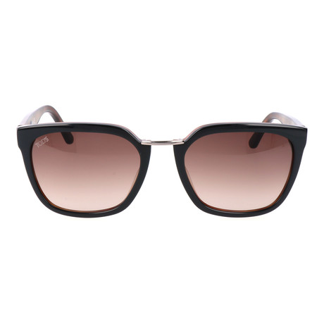 Metal Bridge Wayfarer // Brown