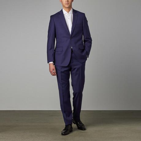 Via Roma // Classic Half-Canvas Suit // Royal Blue