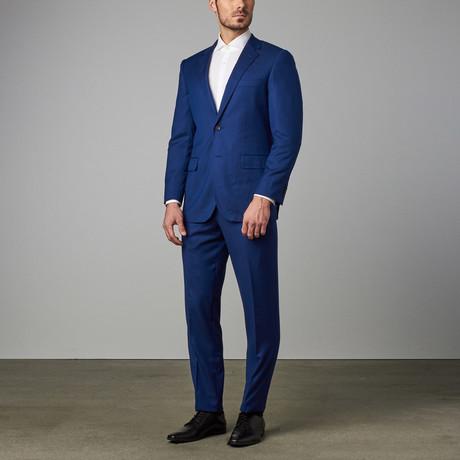 Paolo Lercara // Modern-Fit Suit // Rock + Blue (US: 34R)