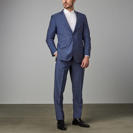 Modern-Fit Suit // Slate Blue