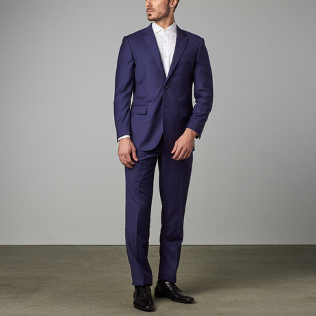 Paolo Lercara // Modern-Fit Suit // Royal Blue (US: 36S)
