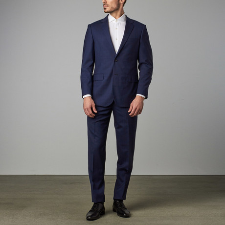 Paolo Lercara // Modern-Fit Suit // Shadow Check (US: 34R)