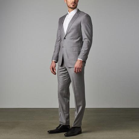 Modern-Fit Suit // Light Grey
