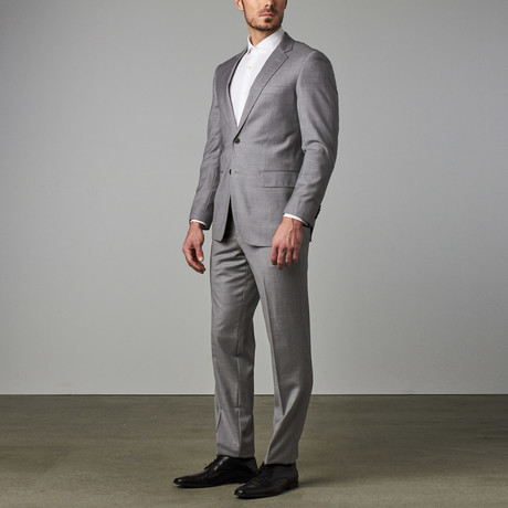 Paolo Lercara // Modern-Fit Suit // Light Grey (US: 34R)