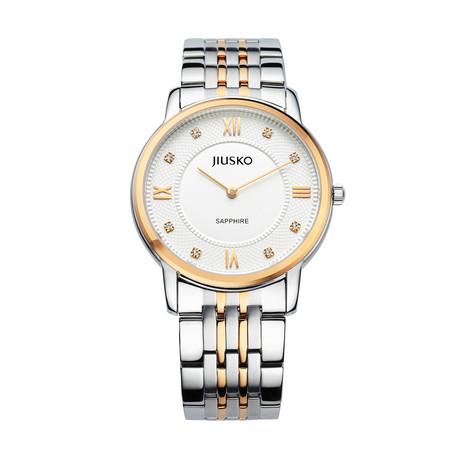 JIUSKO Classic Two-Tone Quartz // 111MRG01