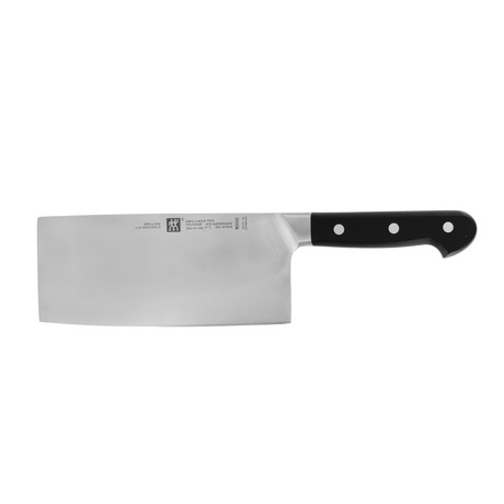 """Zwilling Pro // 7"""" Chinese Chef's Knife & Vegetable Cleaver"""