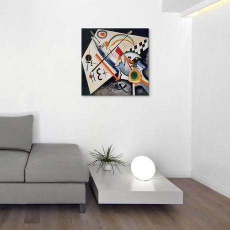 "White Cross // Wassily Kandinsky // 1922 (18""W x 18""H x 0.75""D)"