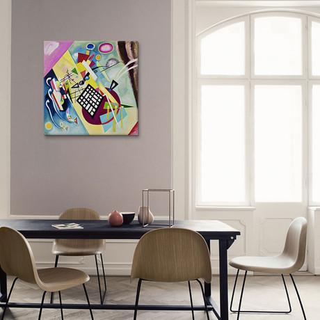"""Black Grid // Wassily Kandinsky // 1922 (18""""W x 18""""H x 0.75""""D)"""