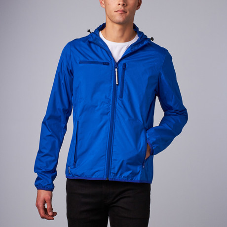 Baubax Windbreaker // Male // Blue
