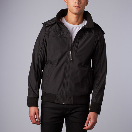 Baubax 1.0 Bomber // Male // Black (XL)