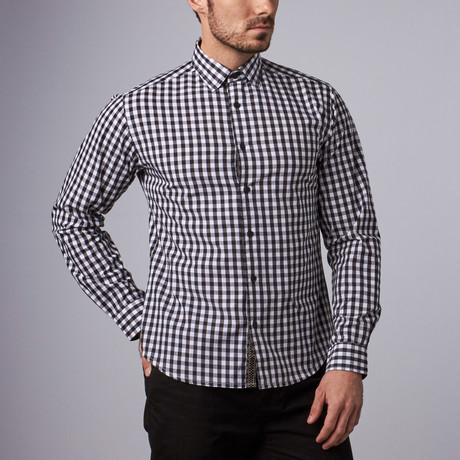 Upton Gingham Shirt // Black (S)