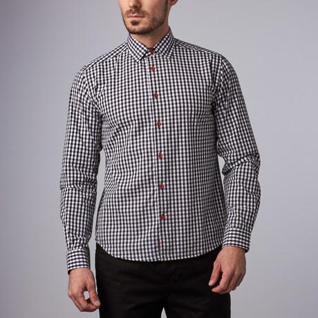 Chester Gingham Shirt // Black (S)