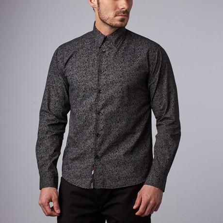 Brighton Paisley Shirt // Black (S)