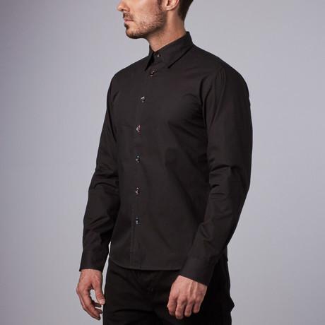 Bugsy Casual Shirt // Black (S)