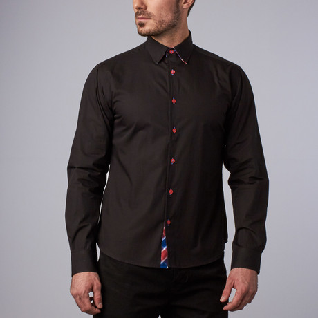 Kingsbury Casual Shirt // Black (S)