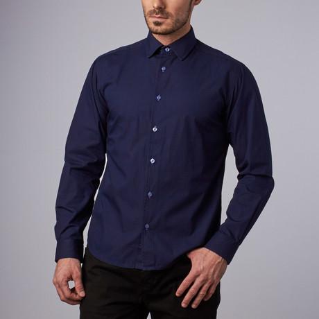 Bridgeport Casual Shirt // Navy (S)