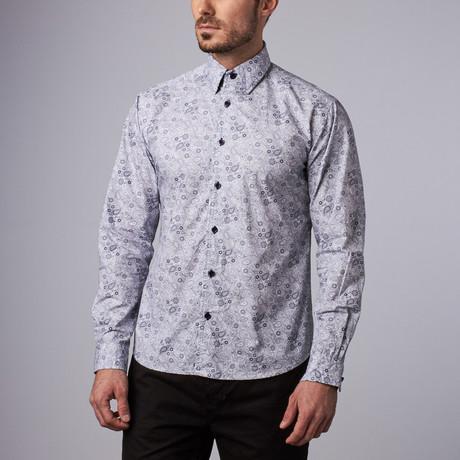 Cambridge Paisley Shirt // White (S)