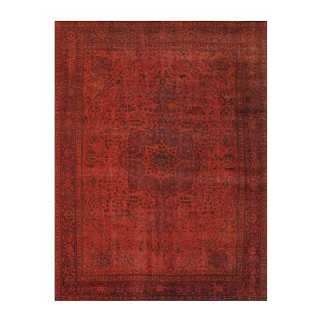 Vintage Overdye Collection // Wool Area Rug // 48464