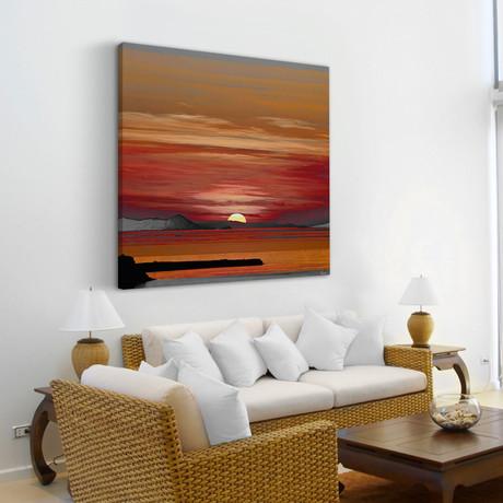 Rising Sun // Canvas