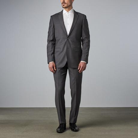 Bella Vita // Slim-Fit Suit // Medium Grey (US: 34R)