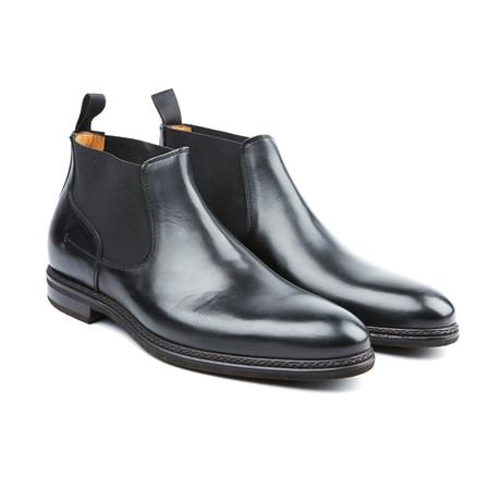 Berlina Chelsea Boot // Black