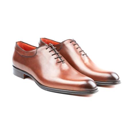 Teatriz Plain-Toe Oxford // Brown