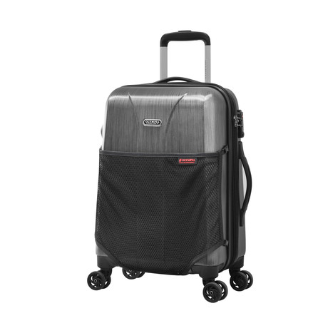 Ultra Lightweight Polycarbonate // Gray (Carry-On)
