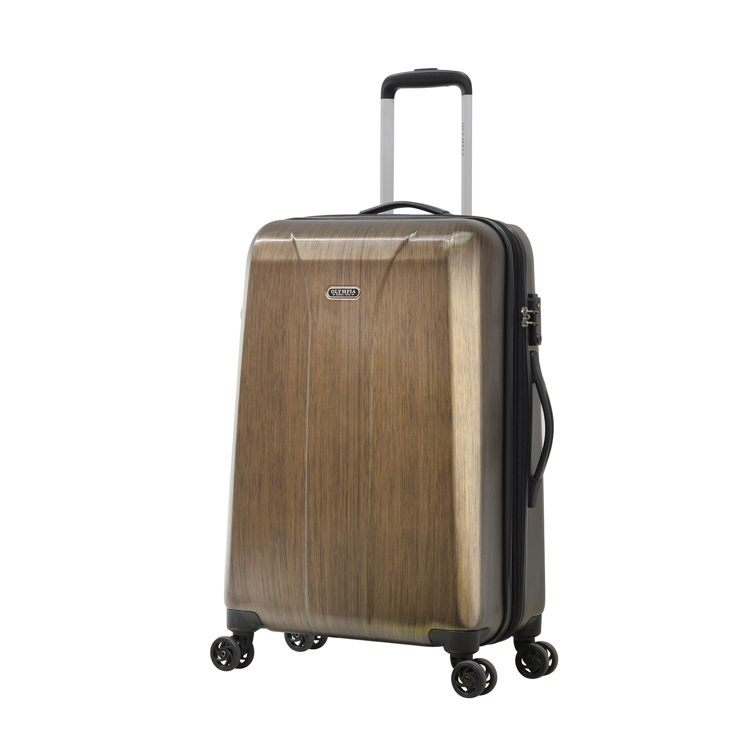 Ultra Lightweight Polycarbonate // Brown (Carry-On) - Olympia USA ...