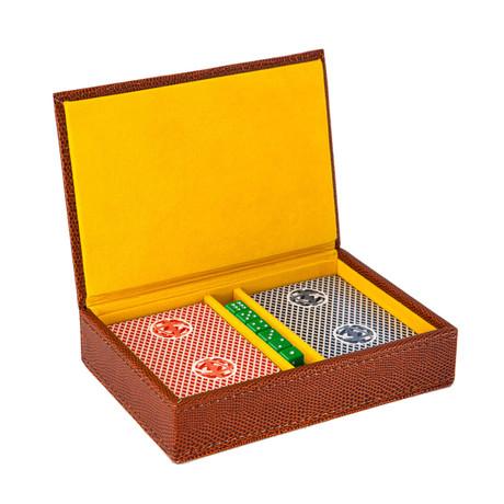 Lizard Game Set // Brown