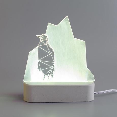 Penguin Lamp // Arctic
