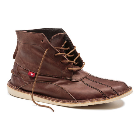 Kuko Chukka Boot // Brown Yellow