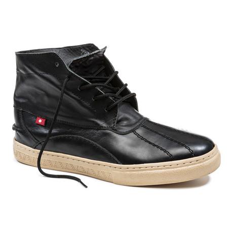 Kuko Cupsole Chukka Boot // Black Grey
