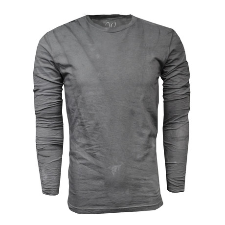 Crew Neck Long-Sleeve Tee // Vintage Gray (S)