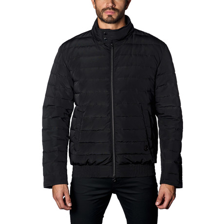 Chicago Lightweight Down Puffer // Black (S)